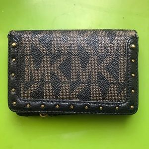 Michael Kors short wallet credit card holder